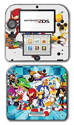 Sonic Boom Hedgehog Tails Amy Rose Knuckles Eggman Shattered Crystal Fire & Ice Orbot Cubot Shadow Video Game Vinyl Decal Skin Sticker Cover for Nintendo 2DS System Console (Shadow Hedgehog Game compare prices)