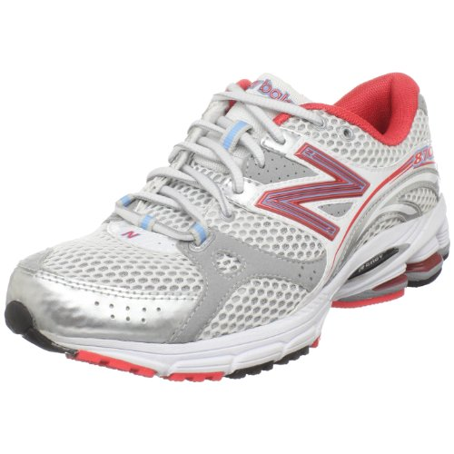 New Balance Women's WR870CB White/Coral/Silver Trainer WR870CB 8 UK