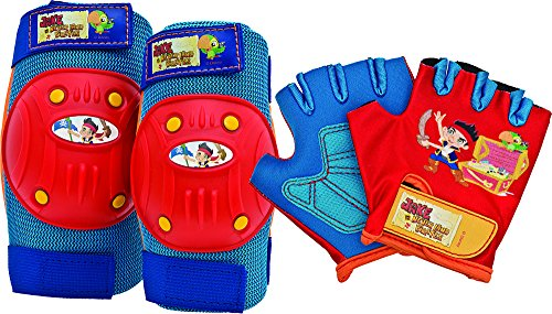 Bell Jake and The Never Land Pirates Protective Gear with Elbow Pads/Knee Pads and Gloves - 1