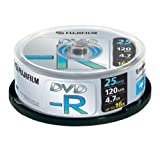 Fujifilm DVD-R X 25 Spindle (4.7GB 16X)