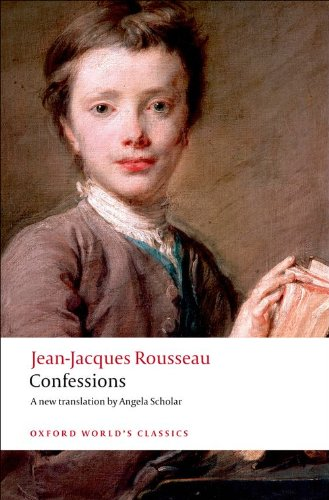 jean jacques rousseau s the confessions a review The confessions of jean-jacques rousseau [jean-jacques rousseau a s b glover william sharp] -- rousseau was the first man to expose himself candidly to the public gaze there is a candor of the spirit there is a candor of the tongue there is a.