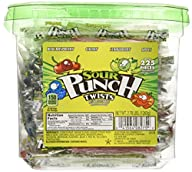 Sour Punch Twists – Assorted, Wrapped…