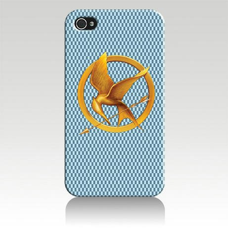 THE Hunger Game Hard Case Cover for Iphone 4 4s 4th Generation - Free Plastic Retail Packaging Box