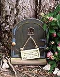 Miniature Dollhouse FAIRY GARDEN / Dancing In The Garden Fairy Door /