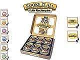 SMOKE IT ALL BBQ Räucherspäne Räuchermischung mit Gewürzen - -