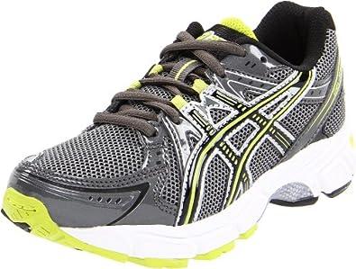 asics Gel-1170 GS Lace-Up Running Shoe (Little Kid/Big Kid),Charcoal/Lightning/Lime,3 M US Little Kid