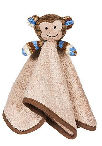 Milo the Monkey Brown and Blue Cuddle Buddy - 1