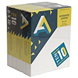 Aa Economy Super Value Canvas 10 Pack 8X10