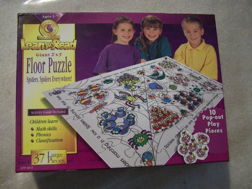 Picture of Learn to Read Learn to Read Giant 2' x 3' Floor Puzzle Spiders Spiders Everywhere (B0015J5F7S) (Floor Puzzles)