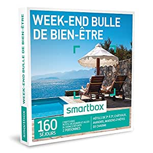smartbox coffret cadeau week end bulle de bien tre 160 s jours h tels de 3 5. Black Bedroom Furniture Sets. Home Design Ideas