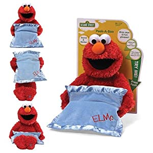 Personalized Peek A Boo Plush Toy (Peek A Boo Elmo) (Color: Peek A Boo Elmo)