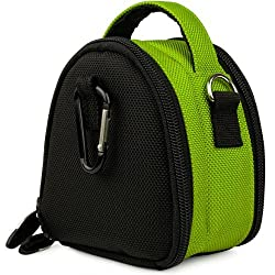 SumacLife Mini Laurel Compact Edition Nylon Camera Bag with Top Carrying Handle and Removable Shoulder Strap