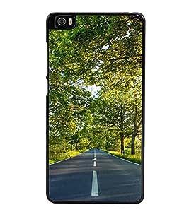 Road 2D Hard Polycarbonate Designer Back Case Cover for Xiaomi Mi 5 :: Redmi Mi5