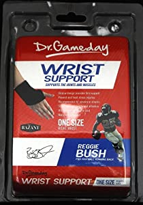 Dr Gameday Wrist Support Right Wrist One Size Fits All by Dr. Gameday