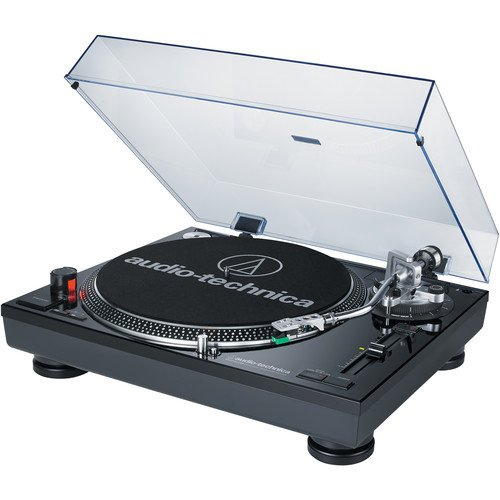 Audio Technica AT-LP120BK-USB Direct-Drive Professional Turntable in Black