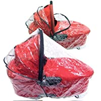 Baby Travel Universal Pram and Carrycot Rain Cover (Large)