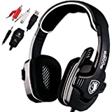 SADES SA922 Pro PC Gaming Headset Surround Sound Stereo Headphones with Microphone for XBOX 360 / PS3 / PS4 / PC / Mobile Phones(Black)