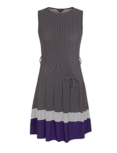 Chicwe-Womens-Sleeveless-Chevron-Border-Printed-Plus-Size-Dress