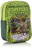 Back Pack Ninja Turtles School Bag Ruck Sack Canvas Travel Satchel Children Boys