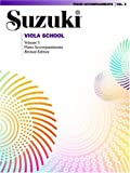 Suzuki Viola School: Piano Accompaniments (Suzuki Viola School Piano Accompaniments)