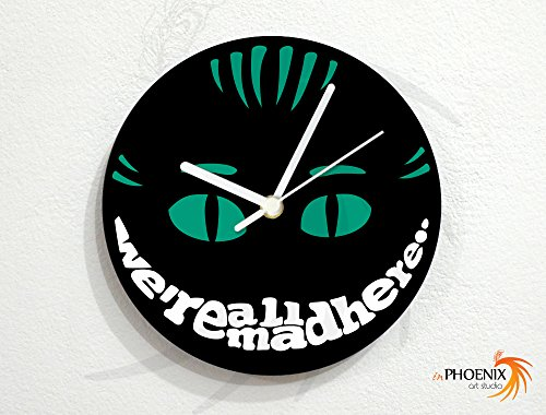 Alice In Wonderland - Cheshire Cat - Wall Clock