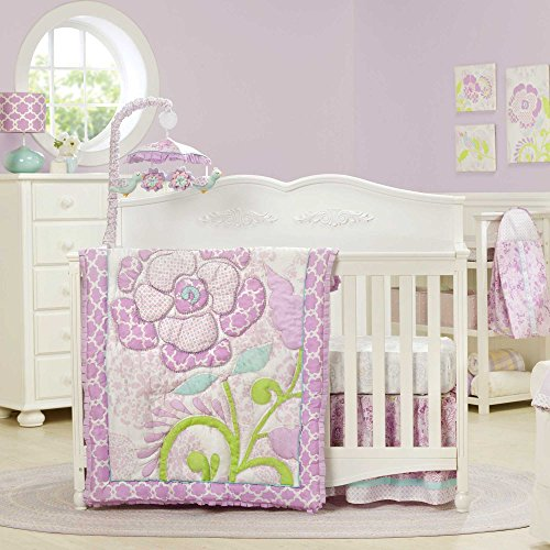 Dena Bloom Crib Set, Infant, 6 Piece (Discontinued By Manufacturer) back-990932