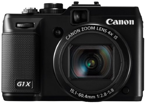 Canon Digital Camera PowerShot G1X 1.5-inch CMOS 3.0-inch Vari-anfle Display PSG1X (Japan Imported) (Japan Imported)
