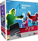 Sony PlayStation 3 Slim Console (320 GB Model) with PlayStation Move