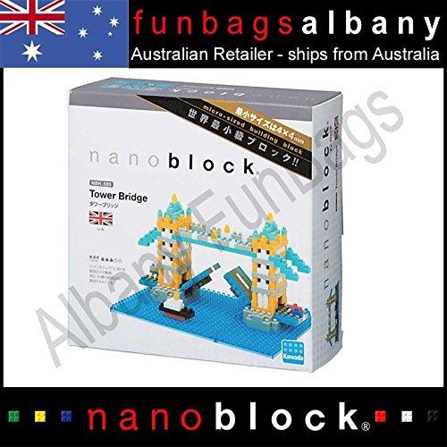 Nanoblock Tower Bridge London micro sized building blocks Nano Micro Block ITEMG839GJ UY-W8EHF3120267