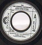 JIMI HENDRIX - BURNING OF THE MIDNIGHT LAMP - 7 inch vinyl / 45