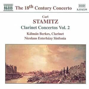 Klarinettenkonzerte Vol. 2