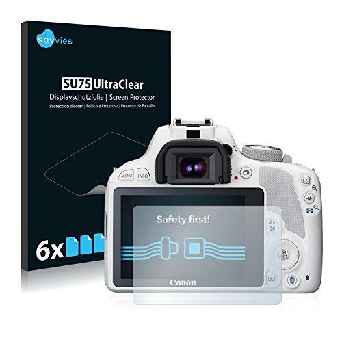 6x-Pellicola-Protettiva-per-Canon-EOS-100D-Protezione-Proteggi-Schermo-Trasparente