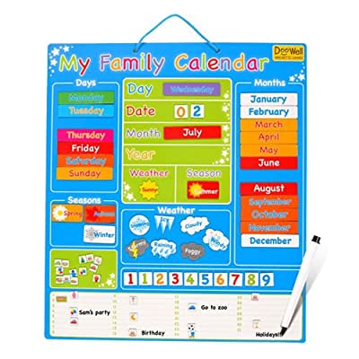 Large Magnetic My Family Calendar