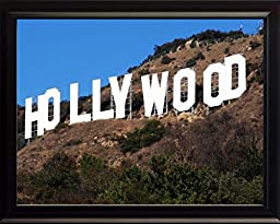 Hollywood Sign in Los Angeles 8x10 Framed Photo