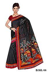 Kaizen International Bhagalpuri Silk Saree-44