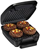 Hamilton Beach Removable Grid Indoor Grill, 60-Inch, Black