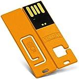 FoldIT B-0710-K-8G CustomUSB USB Flash Drive - 8GB - Yellow