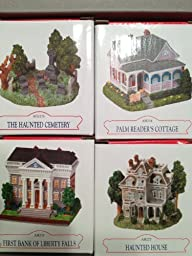 Liberty Falls Set 1 (Palm Reader\'s Cottage, 1st Bank, Haunted House & Cemetery) by Int\'l Resources