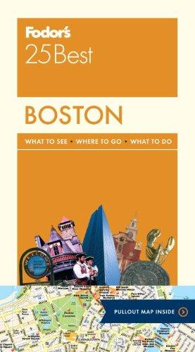 福多的波士顿 25 最好 (全彩旅行指南)