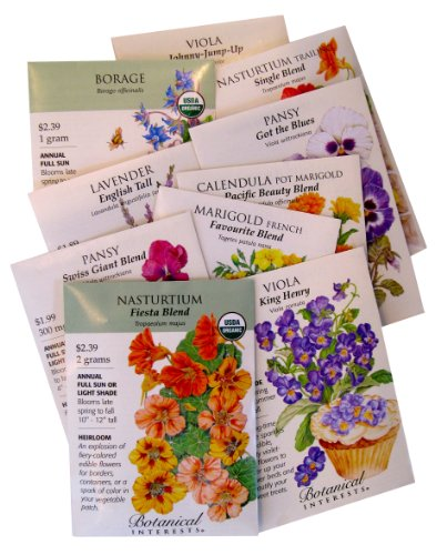 """Cooks and Gardeners"" Edible Flowers to Grow and Eat"