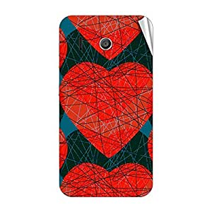 Garmor Designer Mobile Skin Sticker For Huawei G330C - Mobile Sticker