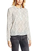 Tom Tailor Denim Camisa Mujer Bluse loose allover printed tunic/511 (Crema / Rosa)