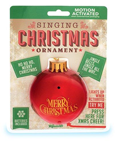 Toysmith Singing L/U Ornament