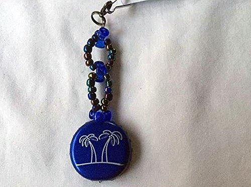 seagrams-escapes-white-palm-and-sapphire-blue-tribead-upcycled-bottlecap-keychain-charm