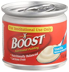 Boost Pudding, Vanilla, 5-Ounce Tins (Pack of 48) by Boost