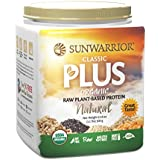 Classic Plus Raw Organic Plant Based Protein, Natural 1.1 lbs