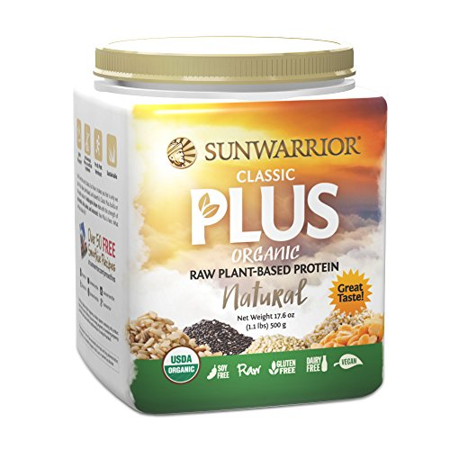 SunWarrior - Classic Plus - Natural 500g (Sunwarrior Protein Natural compare prices)