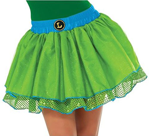 Women's Teenage Mutant Ninja Turtles Leonardo Sequin Tutu Skirt Costume Accessory