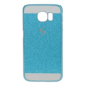Magideal Slim Bling Glitter Phone Case Hard Back Cover For Samsung Galaxy S6 Blue