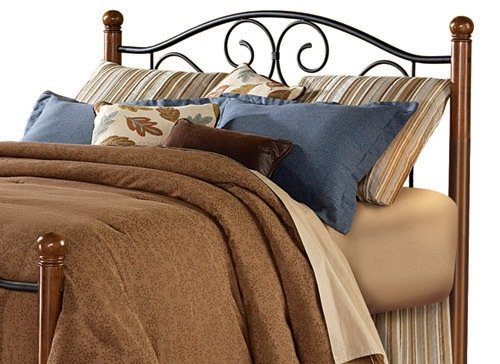 Review Of Fashion Bed Group Doral Headboard, Matte Black/Walnut, Queen